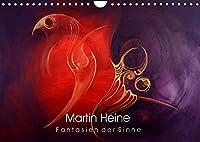 Martin Heine - Fantasien der Sinne (Wandkalender 2022 DIN A4 quer): Martin Heine - Living Artspace - Kunstkalender Acryl und Oel Wandgemaelde (Monatskalender, 14 Seiten )
