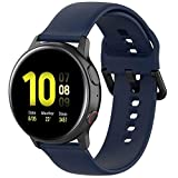Fit for Samsung Galaxy Watch Active 2 Watch Bands, 20mm Silicone...