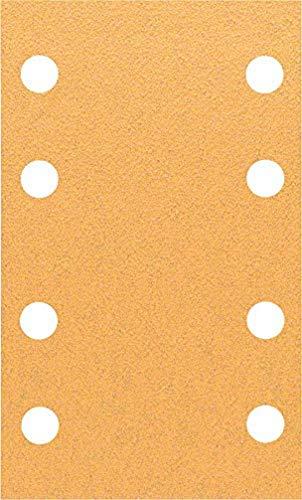 Bosch Professional Schleifblatt für Schwingschleifer Holz und Farbe Best for Wood an Paint (10 Stück, Körnung 80, C470)