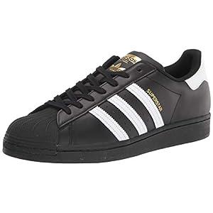 adidas Originals Men's Superstar Shoe Running White/Black, ((20 M US)