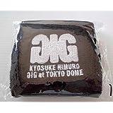 """氷室京介 KYOSUKE HIMURO GIG at TOKYO DOME """"We Are Down But Never Give Up!!"""" グッズ リストバンドBOOWY"""