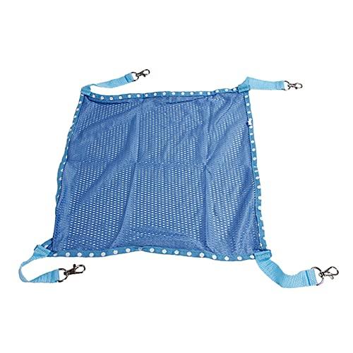 Changge Hamaca de jaula para gatos para colgar en la cama para dormir, silla de columpio de malla transpirable cómoda para gatos y gatitos