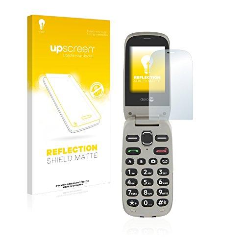 upscreen Entspiegelungs-Schutzfolie kompatibel mit Doro PhoneEasy 632 – Anti-Reflex Bildschirmschutz-Folie Matt