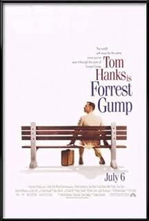 POSTER STOP ONLINE Forrest Gump - Framed Movie Poster/Print (Regular Style) (Size: 27