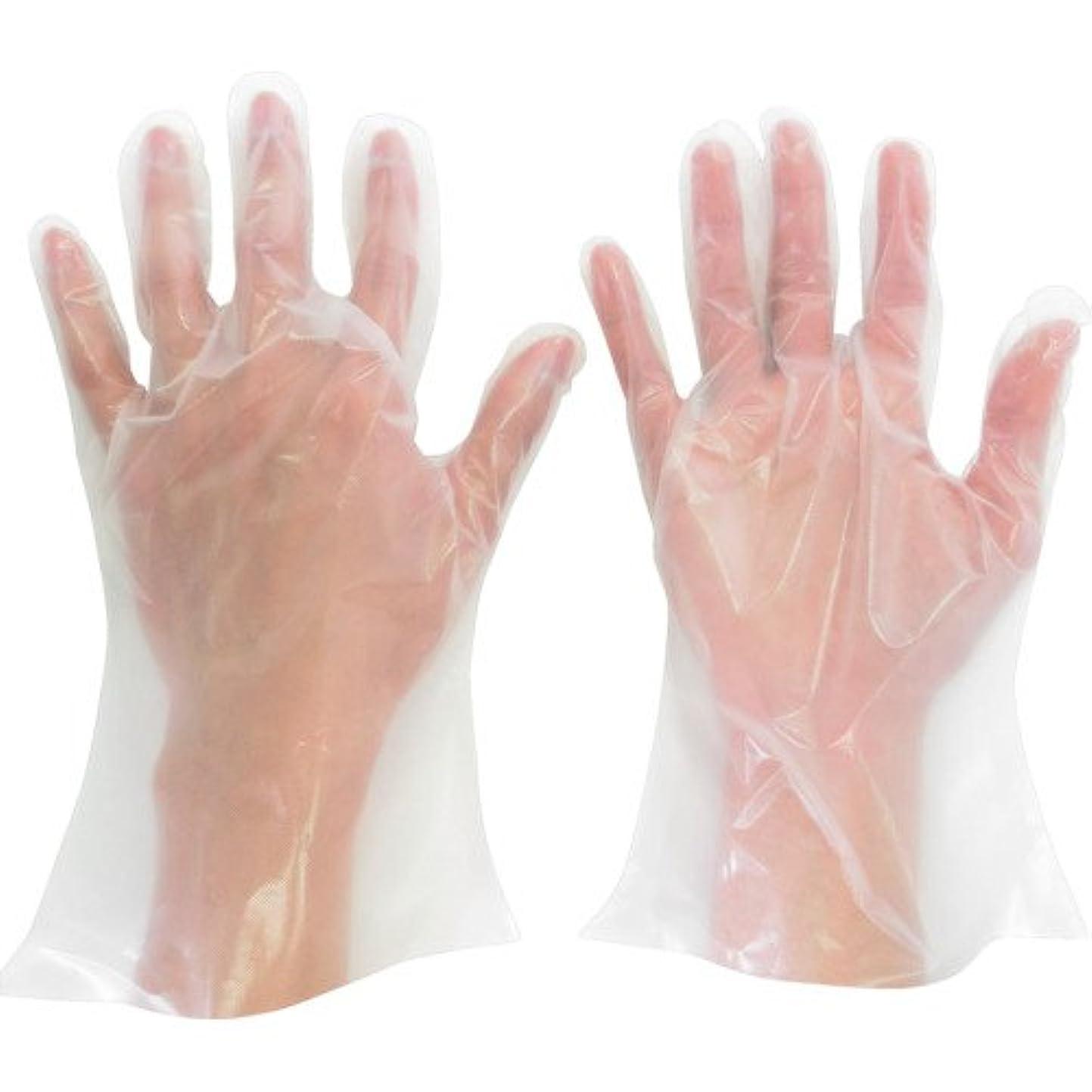 教育者効果的アパートミドリ安全 ポリエチレン使い捨て手袋 厚手 外エンボス 200枚入 M VERTE565NM