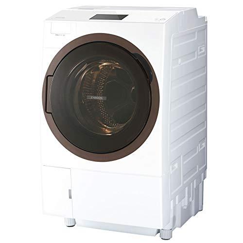東芝 TOSHIBA 12.0kg ドラム式洗濯乾燥機 左開き グランホワイト TW-127X8L-W