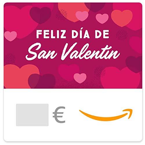Cheques Regalo de Amazon.es - E-mail - Feliz Día de San Valentín (rosa)