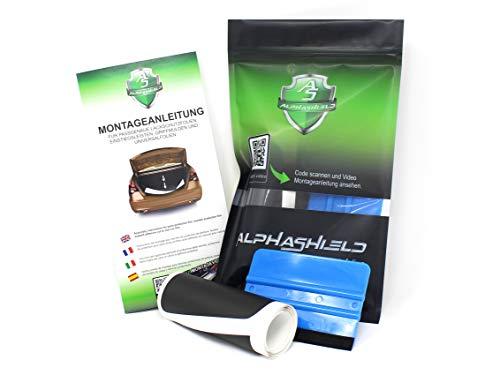Preisvergleich Produktbild Finest Folia L033 Ladekantenschutz Lackschutzfolie inklusive Rakel & Filz passgenauer Zuschnitt für Ihr Fahrzeug Schutz Kofferraum (3M Gravel Resistant F-506)