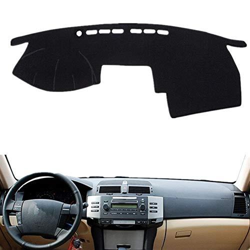 WEISHAN cubierta del tablero For Toyota Mark X 2004 2005 2006 2007 2008 2009 tablero de instrumentos cubierta estera del cojín de la rociada Parasol Instrumento alfombra del coche que labra los acceso