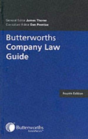 Butterworths Company Law Guideの詳細を見る
