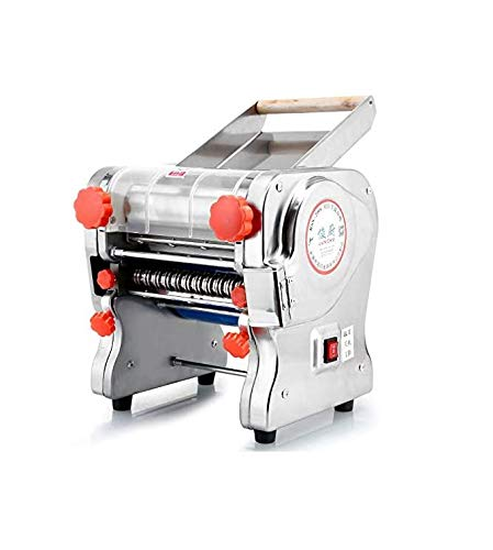 Sooiy 220V Elektro-Nudel Press-Maschine Nudeln Maschine Dumpling Haut Veggie Maker Heim & Commercial Use Pasta Machines,Pasta Knife Length 220mm