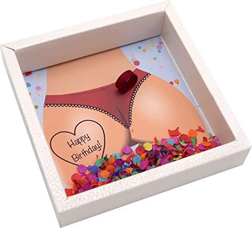 ZauberDeko Geldgeschenk Verpackung für Männer Geburtstag Mann Happy Birthday Konfetti Geschenk Party - 4