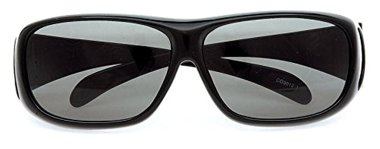 古風なベルト偏見コールマン サングラス メガネの上から偏光サングラス オーバーグラス CO3012-1