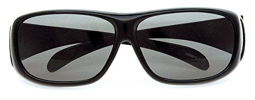コールマン(Coleman) サングラス メガネの上から偏光サングラス オーバーグラス CO3012-1