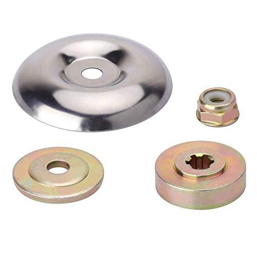 BMBN Placa de Empuje, Juego de Mantenimiento del Accesorio del Adaptador de la Hoja - Arandela Protectora de la Placa de Empuje + Arandela de Empuje + Placa de Apoyo + Contratuerca