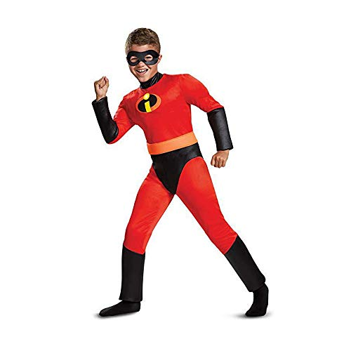FINDPITAYA Disfraz Increíbles - Niños Rojo - Niño/Niña Halloween Cosplay Costume