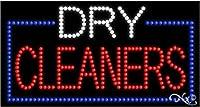 17x 32x 1インチDry Cleanersアニメーション点滅LEDウィンドウサイン