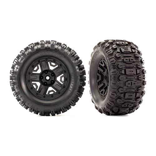 Traxxas Reifen auf 2.8 Felge schwarz Sledgehammer (2) TSM Rated