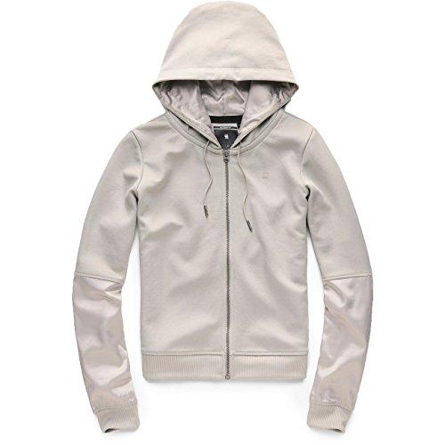 G-Star Damen Hoodie Craia fyx biker hooded zi , Größe:L, Farben:mercury
