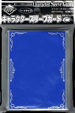 KMC Character Guard Oversized Standard Sleeves - 60 Clear with Florals - Magic: The Gathering