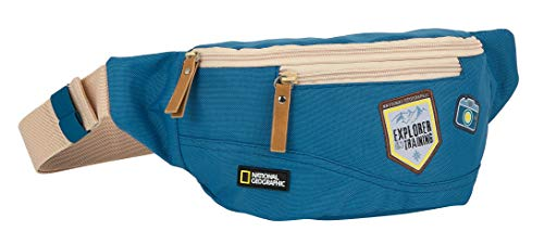 Sac Banane Recyclable National Geographic Explorer, 230 x 90 x 120 mm