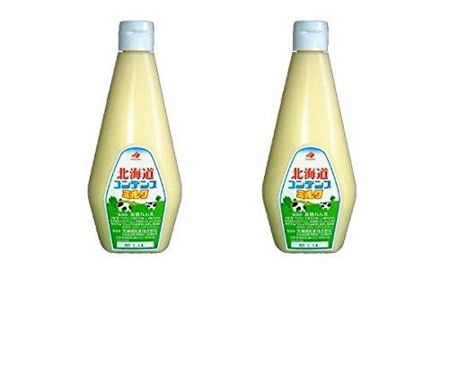【まとめ買い】北海道乳業 コンデンスミルク 1kg × 2本