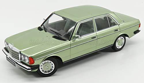 KK-Scale Mercedes-Benz W123 280E E-Klasse Limousine Hell Grün Metallic 1975-1986 1/18 Modell Auto