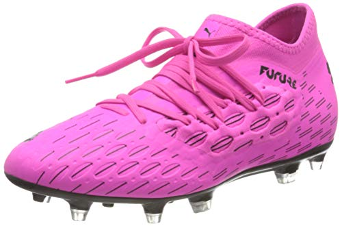 PUMA Future 6.3 Netfit FG/AG, Scarpe da Calcio Uomo, Rosa (Luminous Pink Black), 45 EU
