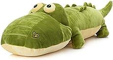 "elfishgo Crocodile Big Hugging Pillow, Soft Alligator Plush Stuffed Animal Toy Gifts for Kids, Birthday, Christmas 25.6\\"""