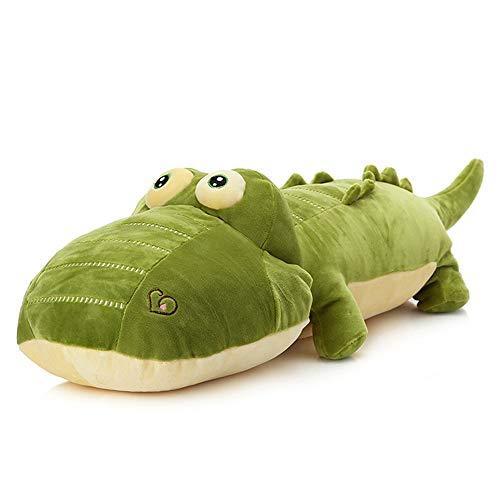 elfishgo Crocodile Big Hugging Pillow, Soft Alligator Plush Stuffed Animal Toy Gifts for Kids, Birthday, Christmas 25.6'
