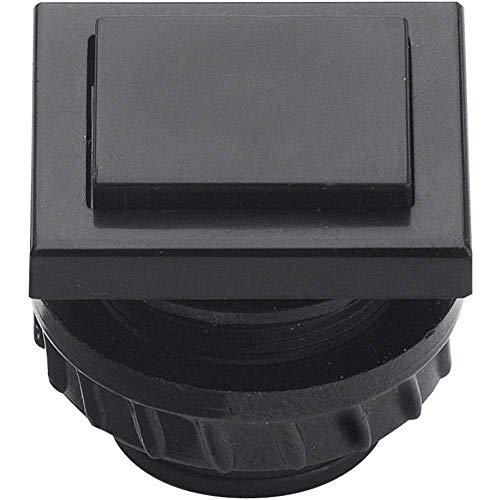 Grothe 61045 GROT Klingeltaster PROTACT681KS schwarz, 1 Stück