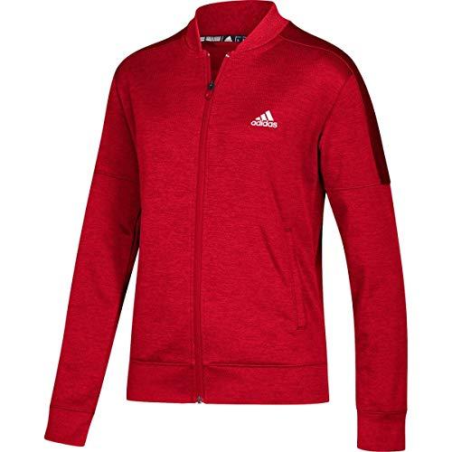 adidas Team Issue Bomberjacke – Damen Multi-Sport S Power Red Melange