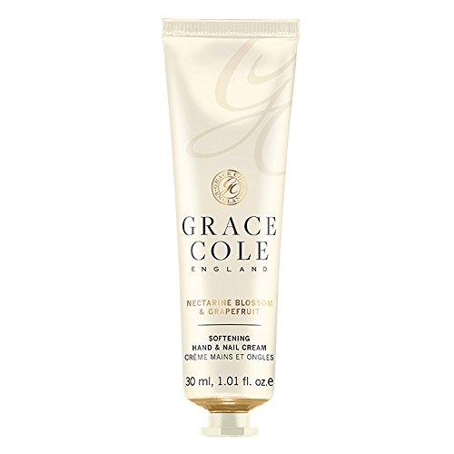 Crème pour les mains et les ongles 30 ml par Grace Cole - Nectarine Blossom & Pamplemousse