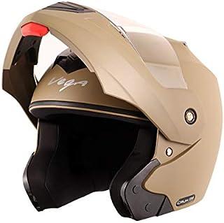 Vega Crux DX Flip-Up Helmet (Dull Desert Storm, Medium)