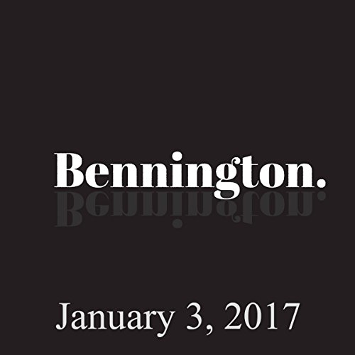 Bennington, January 3, 2017 audiobook cover art