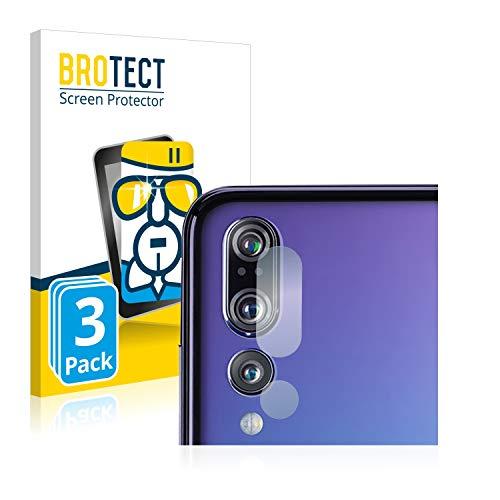 BROTECT Panzerglas Schutzfolie kompatibel mit Huawei P20 Pro (nur Kamera) (3 Stück) - AirGlass, extrem Kratzfest, Anti-Fingerprint, Ultra-transparent