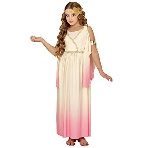 WIDMANN WDM67667?Disfraz para niños Diosa griega (140cm/8?10años), Rosa, XS