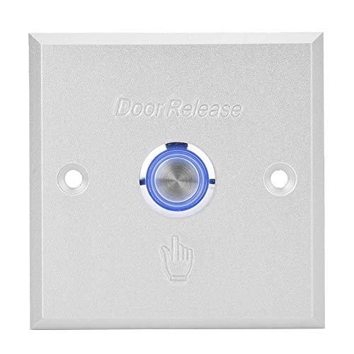 Gaeirt Interruptor de Puerta con botón de liberación de Puerta 100% Nuevo, Interruptor de botón de liberación de Puerta de diseño fácil de Usar, para Sistema de Control de Acceso a la Puerta