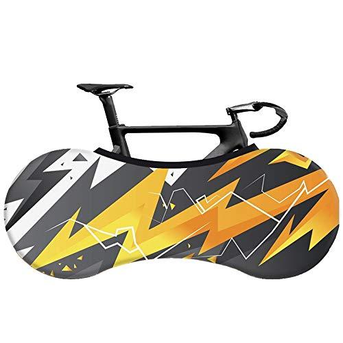 HYSJLS Bicicleta Protección MTB Bicicleta de Carretera Cubierta elástica Cubierta de Tela Cubierta de Polvo for 26'-28' Bicicleta Genuino de la Cubierta de protección de neumáticos Pequeña P
