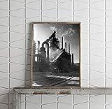 INFINITE PHOTOGRAPHS Fotografía de Blast Hornace en las obras de acero de Belén en Pensilvania