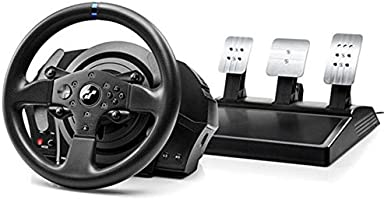 Thrustmaster T300RS GT,Volante y 3 Pedales,PS4 y PC,REALSIMULATOR Force Feedback,Motor Brushless,Sistema de Correa...