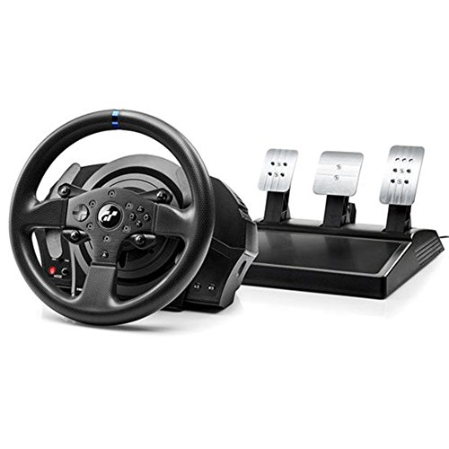 Thrustmaster T300 RS GT Edition - Racing Wheel Volante Include 3-Pedali, Force Feedback, 270° - 1080°, Eco-Sistema, PS4 / PS3 / PC, Funziona con Giochi PS5