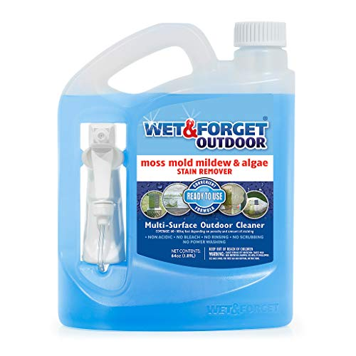 Price comparison product image Wet and Forget Outdoor Ready to Use Moss,  Mold