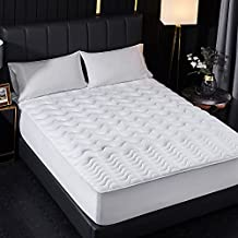 Atarashi Firm, Bamboo Charcoal Infused Mattress Topper, Pressure Relief Mattress Pad for Premium Support, Breathable, Soft, Cooling