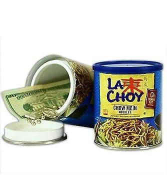 LA Choy Chow Mein Noodles + Free Smell Proof Bag Safe STASH Secret Hidden Storage