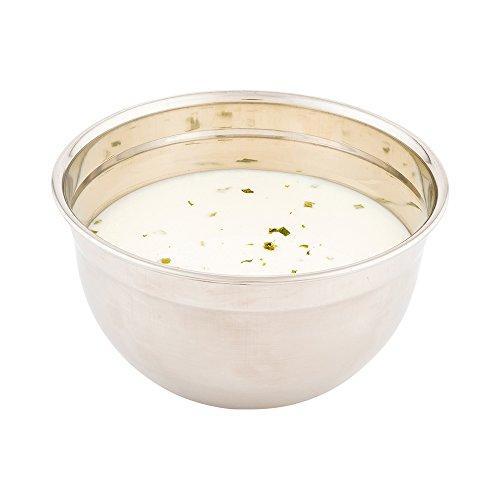 Mixing Bowl, Metal Mixing Bowl, German Mixing Bowl - Stainless Steel - 1.6 Quarts - 1ct Box - Met Lux - Restaurantware