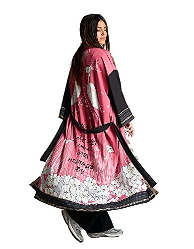 ANABEL LEE Kimono Garzas Talla Unica.