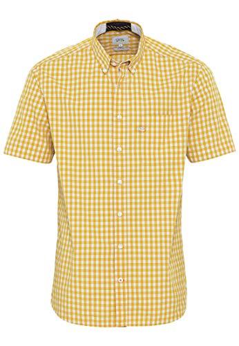 camel active 4092135S26 Camisa, Dorado, XL para Hombre