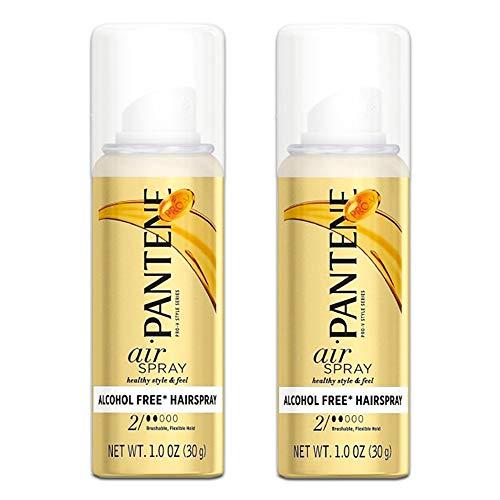 Pantene Pro-V Air Spray 2 Dot Hair Spray Brushable Flex 1oz (2 bottles)