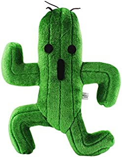 25cm Final Fantasy X Cactus Cactuar Plush Toy Green Plant Stuffed Soft Dolls With Tag